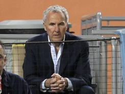 Frank McCourt is in a battle with MLB over ownership of the Dodgers.