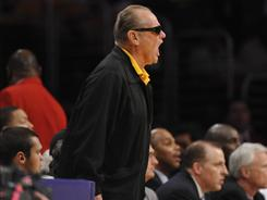 Actor Jack Nicholson, yelling at referees during last year's NBA Finals, probably isn't happy with the way his beloved Lakers ended their season.