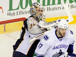Vancouver's Ryan Kesler had five goals and six assists in the final five games of the second-round series.
