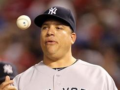 Bartolo Colon is 2-1 after four starts this year for the Yankees.