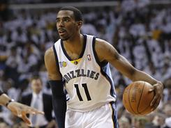 "Guard Mike Conley and the Grizzlies are coming off two consecutive losses to the Thunder. He says the pressure of Game 6 ""will be a good test for us."""