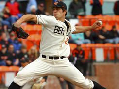 Oregon State pitcher Josh Osich is part of a strong starting rotation that has helped the Beavers rise in the polls.