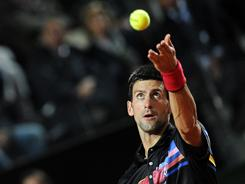 Novak Djokovic of Serbia is on an amazing run in 2011, 35-0 this year and 37 consecutive wins overall. On Friday, he served up an easy 6-3, 6-0 victory against Robin Soderling of Sweden.