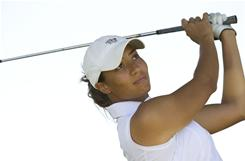 Cheyenne Woods, niece of Tiger, will compete in this week's NCAA championships in Bryan, Texas.