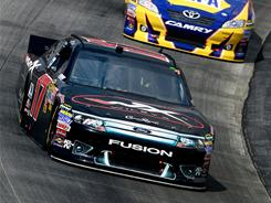 Matt Kenseth drove his No. 17 Ford to his second victory of the season Sunday at Dover.