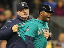 Milton Bradley hit just .218 for the Mariners this season.