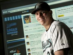 Marlins' Logan Morrison has more than 23,000 followers on Twitter.
