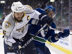 The contract that captain Shea Weber receives this summer will affect what the Nashville Predators can do to boost their offense.