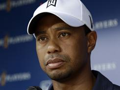 Tiger Woods says he did not do any damage to his knee during The Players Championship and that he expects to be in the field at the june 16-19 U.S. Open.