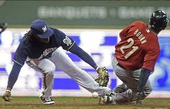 Houston Astros outfielder Michael Bourn (21) has been successful on 14 of his 15 stolen base attempts this season.