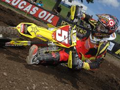 Ryan Dungey, above, and Ryan Villopoto are the favorites to win the Lucas Oil AMA Pro Motocross title. The 2011 season opens Saturday in Sacramento, Calif.