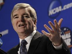 NCAA President Mark Emmert will soon answer the Justice Department's questions about the Bowl Championships Series.