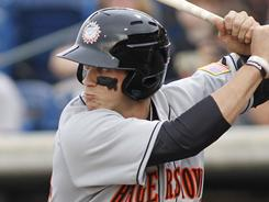 Bryce Harper is hitting .366 in 36 games for the Hagerston Suns.