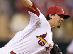 Kyle Lohse allowed just one run on six hits in eight innings in the Cardinals' 5-1 over the Astros on Wednesday night.