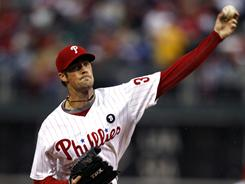 Before his outing Wednesday night, Cole Hamels was 0-3 with an 8.22 ERA in his career against the Rockies. He went eight innings and gave up one run to get the win.