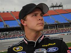 Daytona 500 winner Trevor Bayne, who will miss Saturday's Sprint All-Star Race, was admitted to the Mayo Clinic early this month.