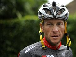 The attorney for Lance Armstrong, here at a 2010 training session for the Tour de France, dismissed the 60 Minutes report.