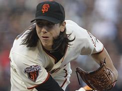 Tim Lincecum threw a three-hit shutout against the A's with six strikeouts on 133 pitches. The performance pushed Lincecum's record to 4-4 and lowered his ERA 2.06.