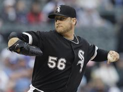 Mark Buehrle is 10-0 with a 1.79 ERA in his last 13 interleague starts, including his strong effort Saturday against the Dodgers. He has 24 interleague wins, leading all of baseball.
