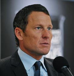 Lance Armstrong, seen here at a news conference in March, encouraged, promoted and took park in doping to win the Tour de France, starting in 1999, teammate Tyler Hamilton said.