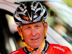 Lance Armstrong, seen here at the 2011 Tour Down Under in Adelaide, Australia in January, said