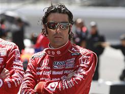 Defending champion Dario Franchitti will start ninth in Sunday's 100th anniversary running of the Indianapolis 500