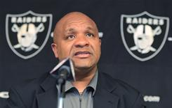 According to a brief filed Wednesday by the NFL Coaches Association, new head coaches like the Oakland Raiders' Hue Jackson face daunting odds of success if the lockout continues.