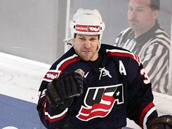 Doug Weight, along with Pat LaFontaine, Mike Modano and Jeremy Roenick, gave the USA strength down the middle internationally.