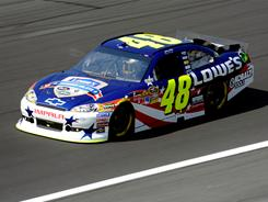 Five-time Sprint Cup champion Jimmie Johnson says passing zones have been limited at Charlotte Motor Speedway since the track was resurfaced in 2006.