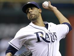 Starter David Price struck out a career-high 12 over seven shutout innings in the Rays' 5-0 win over the Indians Friday. Price had given up 10 runs in his last 11 2/3 innings pitched.