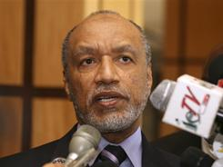 Mohamed bin Hammam withdrew from consideration for FIFA president amid allegations of corruption.