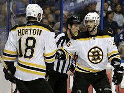 Nathan Horton, David Krejci and Milan Lucic are well-rounded but didn't put up the same regular-season numbers as other playoff teams' top lines.