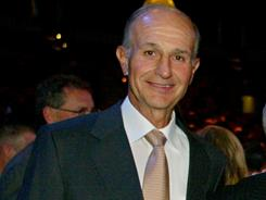 Boston Bruins owner Jeremy Jacobs, seen here at a June 2003 event, praised GM Peter Chiarelli and president Cam Neely for the work they've done with the team.