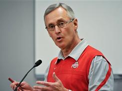 Jim Tressel resigned Monday amid mounting NCAA violations.