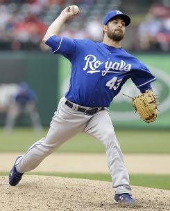 Kansas City Royals reliever Aaron Crow is expected to be the team's new closer after Joakim Soria blew his third consecutive save Monday.