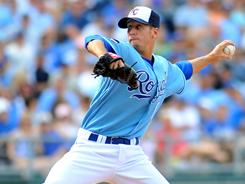 Everett Teaford is part of the Royals' youth movement. Kansas City called him up May 17 and he has a 2.84 ERA.
