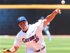 The health of starting pitcher Brian Johnson (concussion) could be a key to Florida's hopes to reach the College World Series for a second consecutive year.