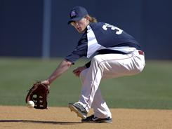 Trevor Gretzky, whose father is NHL legend Wayne Gretzky, has committed to play baseball at San Diego State.