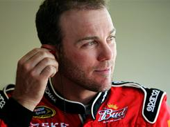 Kevin Harvick, preparing for practice Friday at Kansas Speedway, leads the Sprint Cup Series with three victories after winning the Coca-Cola 600 at Charlotte Motor Speedway.