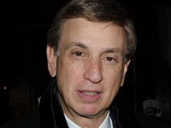 TV sportscaster Marv Albert, seen here at a March 2010 event in New York City, will return will return to calling games on CBS, replacing Gus Johnson.