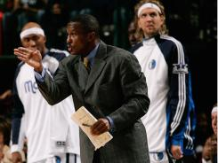 Mavericks assistant coach Dwane Casey is the architect behind the team's 2-3 zone defense.