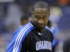Orlando Magic guard Gilbert Arenas said he was fined by the NBA on Wednesday because of Twitter posts.
