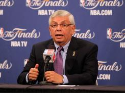 NBA Commissioner David Stern and the players association are trying to hammer out a new labor deal before the current collective bargaining agreement expires on June 30.