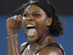 Serena Williams, here celebrating a 2009 tournament win, is returning to the tour after nearly a year off because of various health issues. Williams is planning on defending her title at Wimbledon.