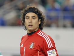 Starting goalkeeper Guillermo Ochoa was one of five Mexican players suspended for a doping violation.