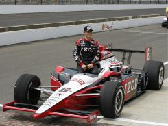 "Defending champion Ryan Briscoe says Texas Motor Speedway is an amazing track. ""It's one of the fastest races we go, and everything feels faster at night."""