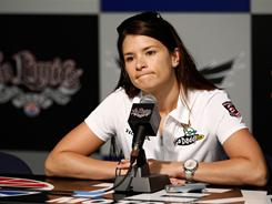 During a news conference Friday morning at Texas Motor Speedway, Danica Patrick made the case for the Izod IndyCar Series adding more ovals to its schedule.
