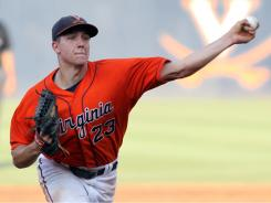 Virginia pitcher Danny Hultzen and the top-seeded Cavaliers prepare to face UC-Irvine in the super regionals this weekend.