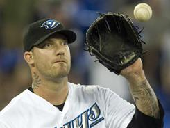 Blue Jays' Jon Rauch is one of the closers for the Toronto Blue Jays.
