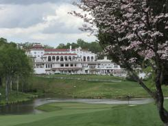 The clubhouse at Congressional  Country Club, which this week will host the 2011 U.S. Open.
